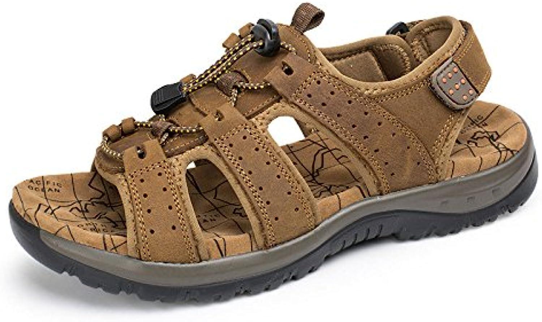 Sandalen Strand Schuhe Männer Low Cut Outdoor Freizeitschuhe LightBrown 39Sandalen Low Cut Outdoor Freizeitschuhe LightBrown 39 Billig und erschwinglich Im Verkauf