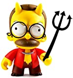 Kidrobot The Simpsons: Devil Flanders - Medium Collectible Vinyl Figure NEW