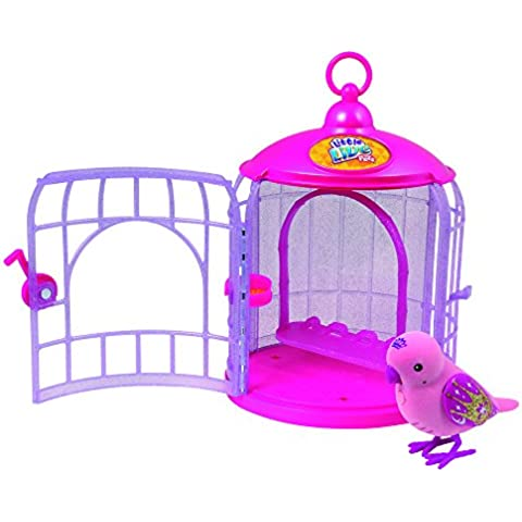 Little Live Pets - Pajaritos parlanchines con su jaula, serie 4 (Famosa 700013196)