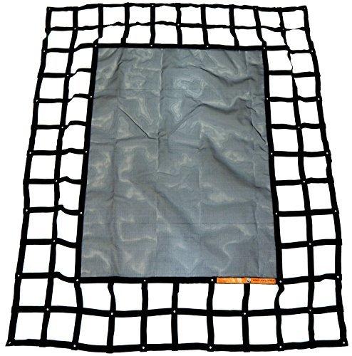 Gladiator Cargo Gear - SafetyWeb Cargo Net - Heavy Duty, Adjustable- Small...