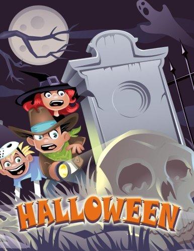 Writing Journal / 8.5 x 11 Halloween Themed Notebook (Halloween Gifts) (Elf Halloween)