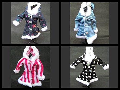Barbie Sindy größe puppen mini kurz party-kleid ballkleider hochzeit fee Kleid hose mantel lingerie - von Fat-catz-copy-catz - 3 x puppen mantel