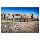 artboxONE Poster 45x30 cm Städte Panorama der Gdansk