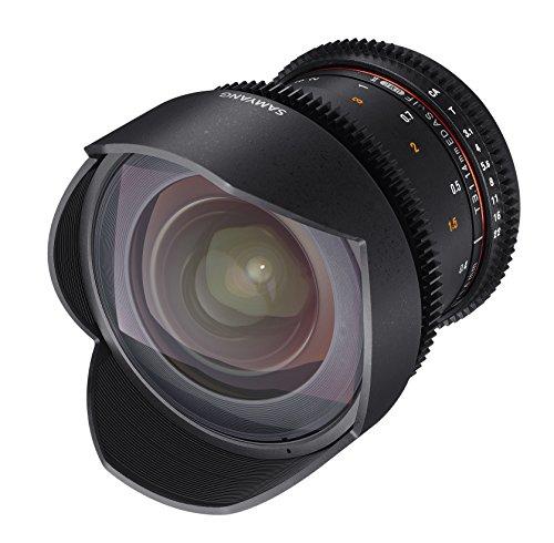 Affordable Samyang Lens Opening for Video VDSLR (Fixed Focal Length 14mm T3.1–22Ed as if UMC II), Black Review