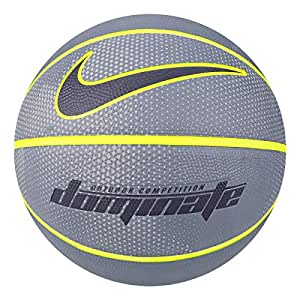 Nike Erwachsene Dominate 8P Basketball, Armory Volt/Thunder Blue, 7