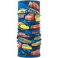Buff Cars Tubular y Forro Polar, niños, Azul, Talla Única