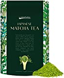 Japanese Matcha Green Tea Powder 50g Pouch - Make Tea, Smoothie, Desserts, Shakes & Bake - Perfect for Healthy Living, Vegan friendly & Weight loss - By Heapwell Superfoods UK
