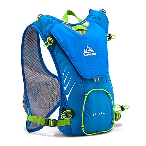 Imagen de aonijie– de hidratación con 2l vejiga bolsa ligero bolsa para bicicleta/senderismo escalada, azul alternativa