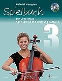 Spielbuch zur Celloschule: Cello spielen mit Spaß und Fantasie. Band 3. 1-3 Violoncelli, teilweise mit Klavier. Spielbuch mit CD.