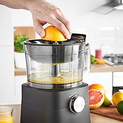 VonShef-750W-Kchenmaschine-Multifunktions-Standmixer-Mixer-Zerkleinerer-Entsafter-Zitruspresse-Multi-Mixer-mit-Knethaken-Hcksler-Reibe-12-Liter-Rhrschssel-18-Liter-Mixgef