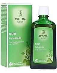 WELEDA Birken-Cellulite-Öl (1 x 200 ml) - Anti-Cellulite-Öl für eine straffe Haut