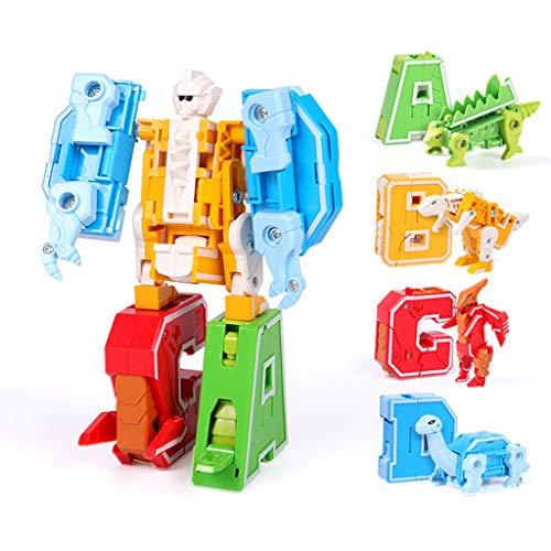 Juego de bloques de construcción, Héroes Rescue Bots Juguete, Deformación Modelo de robot, Montaje creativo de Juguetes, Bloques de construcción, Letras, Juguetes de dinosaurios, Montaje de juguetes (