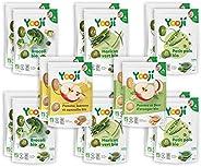 Yooji - Panier Diversification pour le Repas de Bébé de 4 à 6 Mois - Portions de Purées de Légumes & Fruit