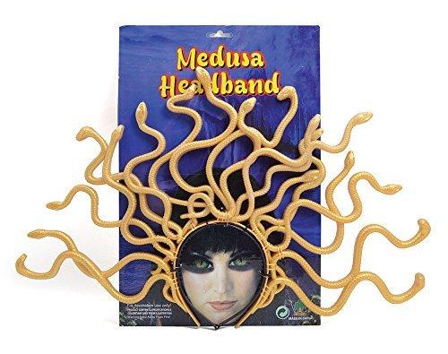 Medusa Haarband Kopfbedeckung Zubehör für römischen griechischen Mythologie Fancy Kleid mit (Kleid Medusa)