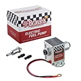 Picture Of Bravex 12V Standard Universal Electric Fuel Pump Metal for Petrol & Diesel EP12S (4-7 PSI)