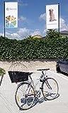 Hunde Katzen Fahrradkorb Weide Rattan Schutzgitter Gepäckträger hinten Gitter - 3