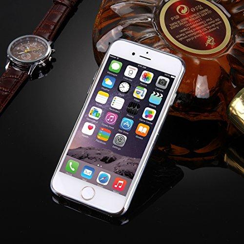 Phone case & Hülle Für iPhone 6 Plus / 6s Plus, Argyles Texture Galvanisieren Soft TPU Schutzhülle ( Color : Gold ) Silver