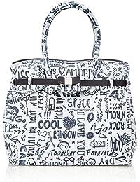 save my bag Miss, Borsa a Mano Donna, 34x29x18 cm (W x H x L)