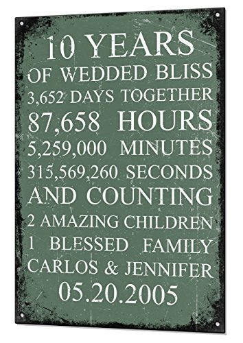 wedding-anniversary-gift-custom-vintage-metal-matching-fridge-magnet-keepsake-sign-retro-tin-plaque-