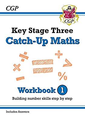 New KS3 Maths Catch-Up Workbook 1 (with Answers) (CGP KS3 Maths) from Coordination Group Publications Ltd (CGP)