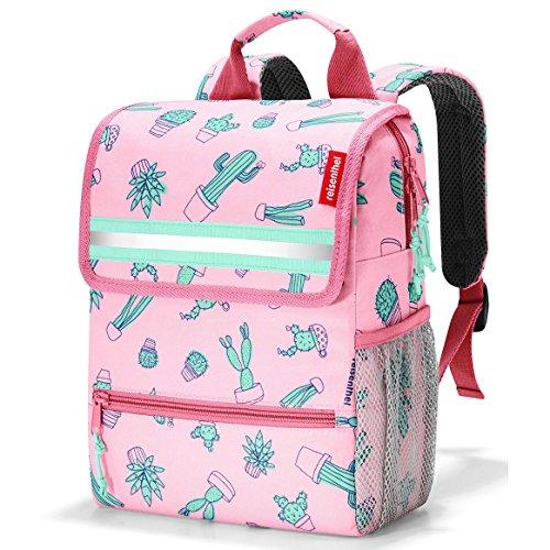 Reisenthel Backpack Kids, Zaino, Borsa da Viaggio, Accessori, Greenwood, IE5035 Cactus Pink