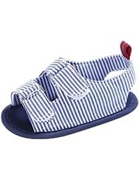 KISSION Sandali Classici di Tela del Ragazzino 5 colore facoltativo