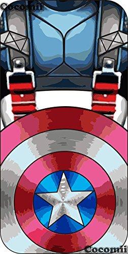 iPhone SE / 5S / 5C / 5 Schutzhülle, Cocomii® [HEAVY DUTY] Iron Man Case :::NEUE::: [ULTRA KRIEG RÜSTUNG] Premium Stoßfest Ständer Hülle Bumper [MILITARY DEFENDER] Voller Körper Robuste Dual Layer Hyb Captain America
