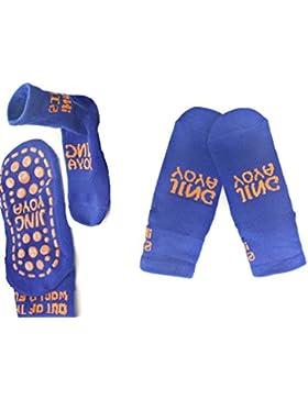 TUKA Calcetines Antideslizantes para niños niñas, Unisex ABS Calcetines con botones. para yoga, Danza, trampolín...