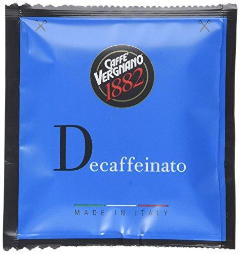 Caffè Vergnano 1882 Cialde Decaffeinato - [2 confezioni da 18 capsule - totale 36 capsule]