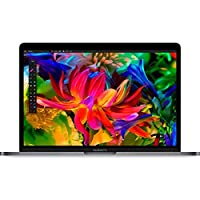 Apple MacBook Pro 2016 Laptop With Touch Bar MLH12B/A - Intel Core i5 2.9 GHz, 13.3 Inch, 256GB SSD, 8GB RAM, English Keyboard, macOS, Space Gray - International Version