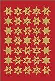 HERMA Etui 3 planches de 35 sticker de Noël'étoiles' 16 mm avec chiffres 1-24
