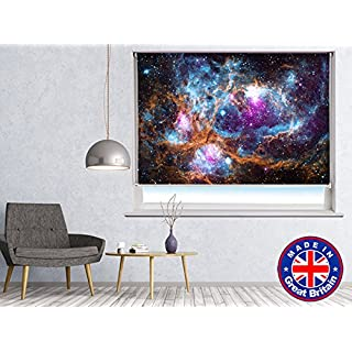 SPACE IMAGE OF THE LOBSTER NEBULA Printed Picture Blackout Photo Roller Blind - Custom Made Printed Window Blind