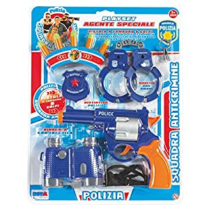 Rstoys - Ronchi Supe-Blister Policía Agente Especial,, 3.st10237
