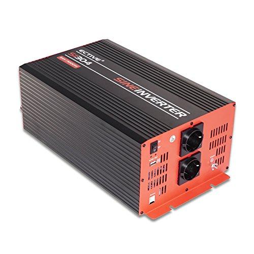 ECTIVE 3000W 24V auf 230V SI-Serie Reiner Sinus Wechselrichter in 7 Varianten: 300W - 3000W