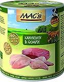 MACs Dog Kaninchen & Gemüse | 6x 800g Hundefutter nass