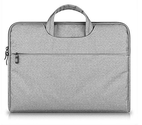 Universal Laptop Sleeve Paket in einer Vielzahl von Größen bis 13 Zoll, Apple ash wählen (Leinwand Attache)