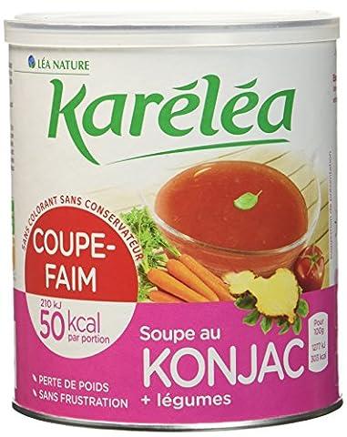 Coupe Legumes Et Oignons - Karéléa soupe coupe-faim au Konjac et légumes