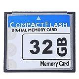 WOVELOT Professional Scheda di Memoria Compact Flash da 32 GB (Bianco E Blu)