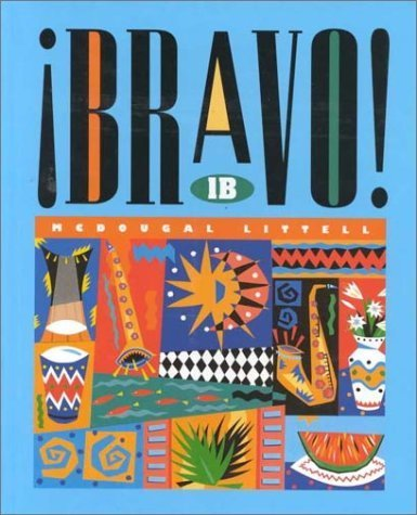Bravo: Level 1B (Spanish Edition) by Tracy D. Terrell (1995-01-03)