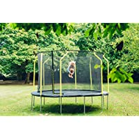 Plum® Unisex-Youth Trampoline, Black, 10ft