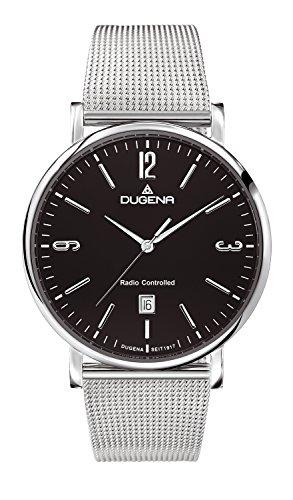 Dugena Men's Watch Radio-Controlled Analogue Quartz Stainless Steel 4460582