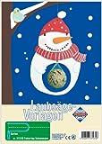 Pebaro 372/3S - Plantilla para sierra de marquetería - Motivo: muñeco de nieve
