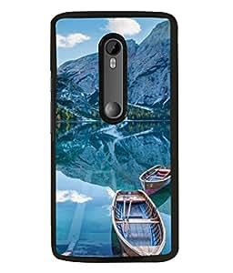 Snapdilla Designer Back Case Cover for Motorola Moto G3 :: Motorola Moto G (3rd Gen) :: Motorola Moto G3 Dual SIM (Sunrise Wallpaper Beauty Nanital Lake River)