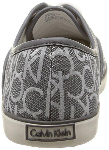 Damen Calvin Jeans Klein Klein Calvin Sneakers pwr Grau Rea TXTBrwq