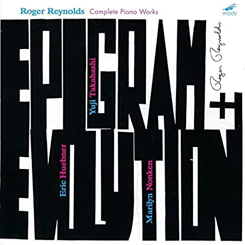Complete Piano Workws by Roger Reynolds (2009-09-29)