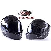 Viper RS1010Full Face carbonio Shell Moto Casco Ecer ACU carbonio xs