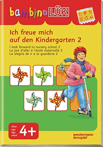 bambinoLÜK-System: bambinoLÜK: Ich freue mich auf den Kindergarten 2: ab 4 Jahren
