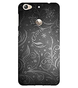 ColourCraft Beautiful Pattern Design Back Case Cover for LeEco Le 1S