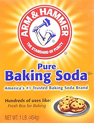 Arm & Hammer Baking Soda, 16 Oz : everything five pounds (or less!)