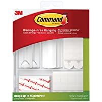 3M 17213ES Command Picture Hanging Kit, Multi-Colour